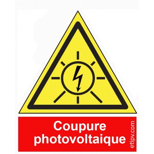 """Etiquette Adhésive """"Coupure..."""