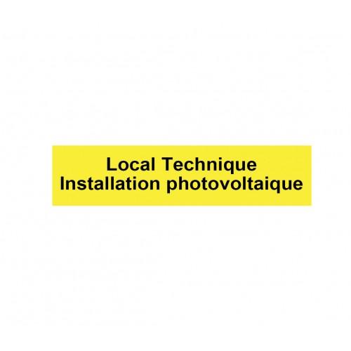 """Plaque RIGIDE PVC """"local..."""